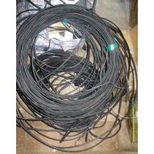 Оптический кабель Б/У для внешней прокладки (с металлическим тросом) в Краснодаре, оптокабель БУ (Краснодар)